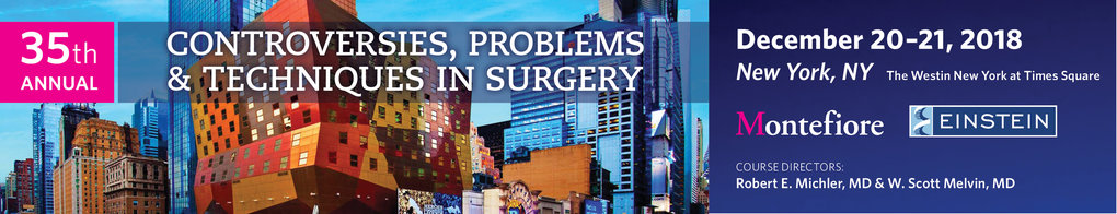 Controversies, Problems & Techniques in Surgery